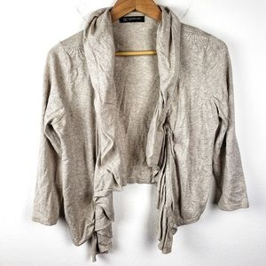 International Concepts | Petite Ruffle Cardigan